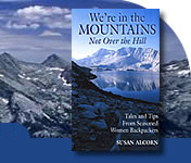 front cover In the Mountains - Not Over the Hill by Susan Alcorn